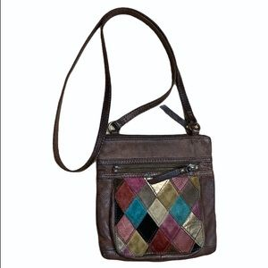 Fossil Crossbody bag all leather